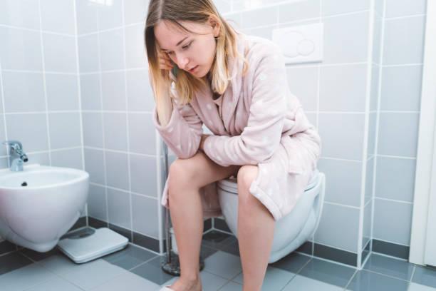 mujer con afeccion de incontinencia